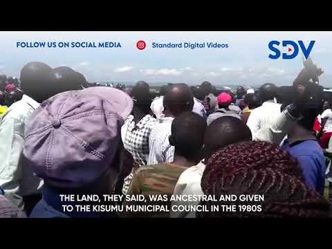 Why Raila Odinga was heckled in Muhoroni