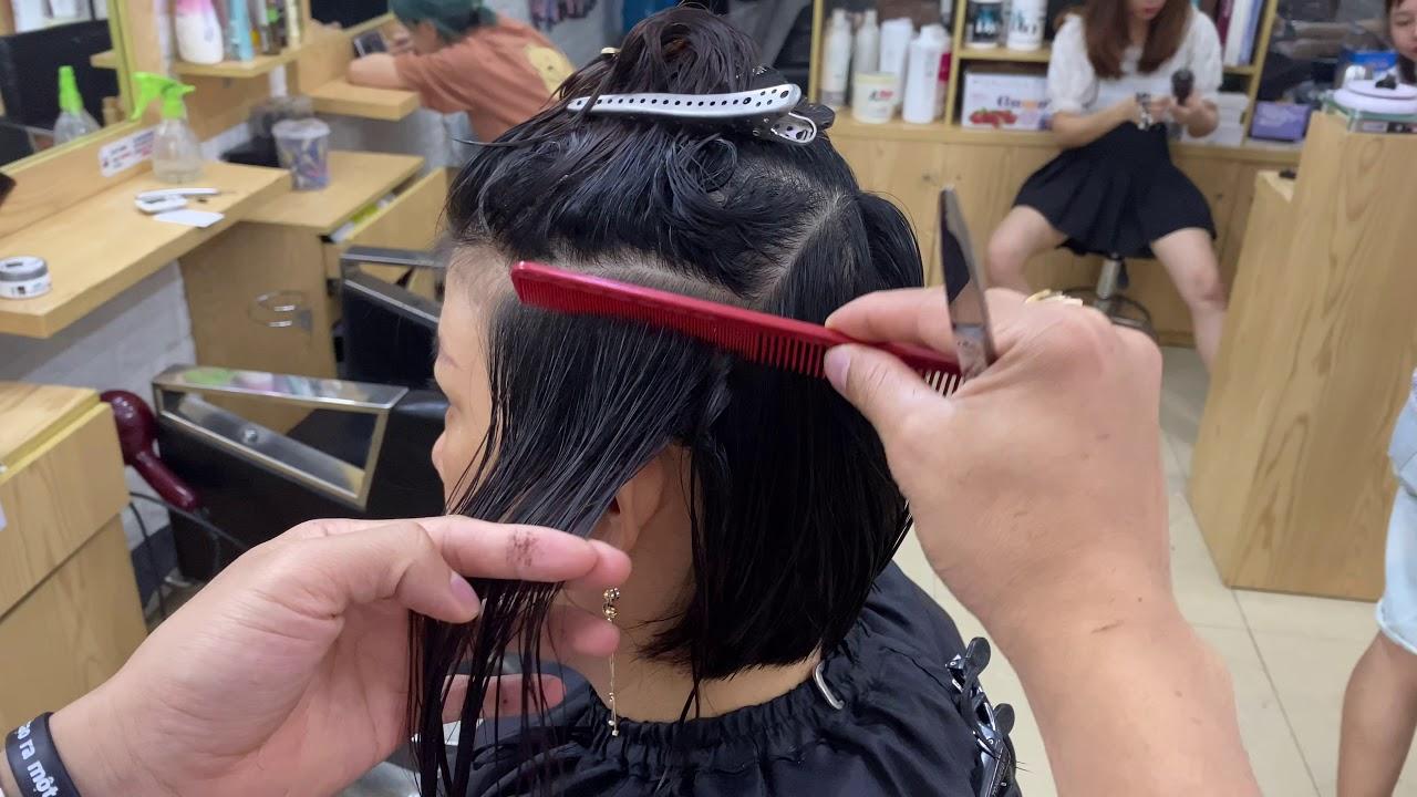 Bob Graduated Hair Cut | Trần Ngọc Tùng
