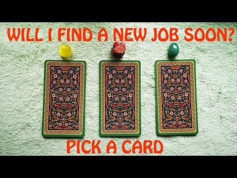 WILL I FIND A NEW JOB SOON? CAREER PICK A CARD +GIVE AWAY