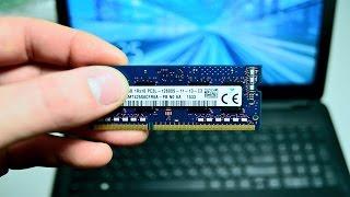 видео Оперативная память для ноутбука DDR3. Как правильно выбрать?