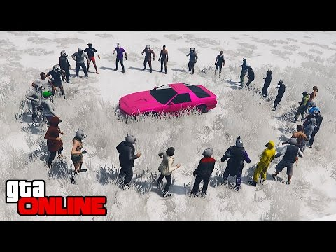 CAN 100+ SNOWBALLS DESTROY A CAR? TANK?! || GTA 5 Online || PC (Funny Moments)
