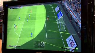 PES 2015 Gamescom #2 Gameplay - Holland vs Brazil Full Match - 60 FPS [HD] - PS4/XboxOne/PC