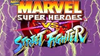 Marvel Super Heroes vs Street Fighter [Intro]