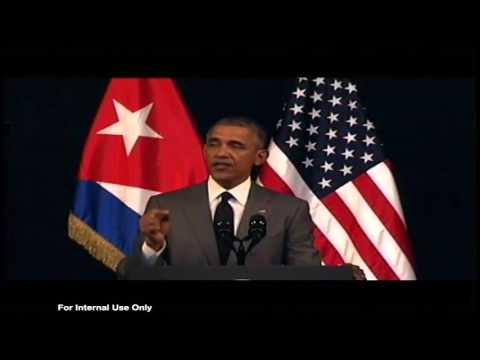 Interview with Conan Nolan on trip to Cuba with President Obama
