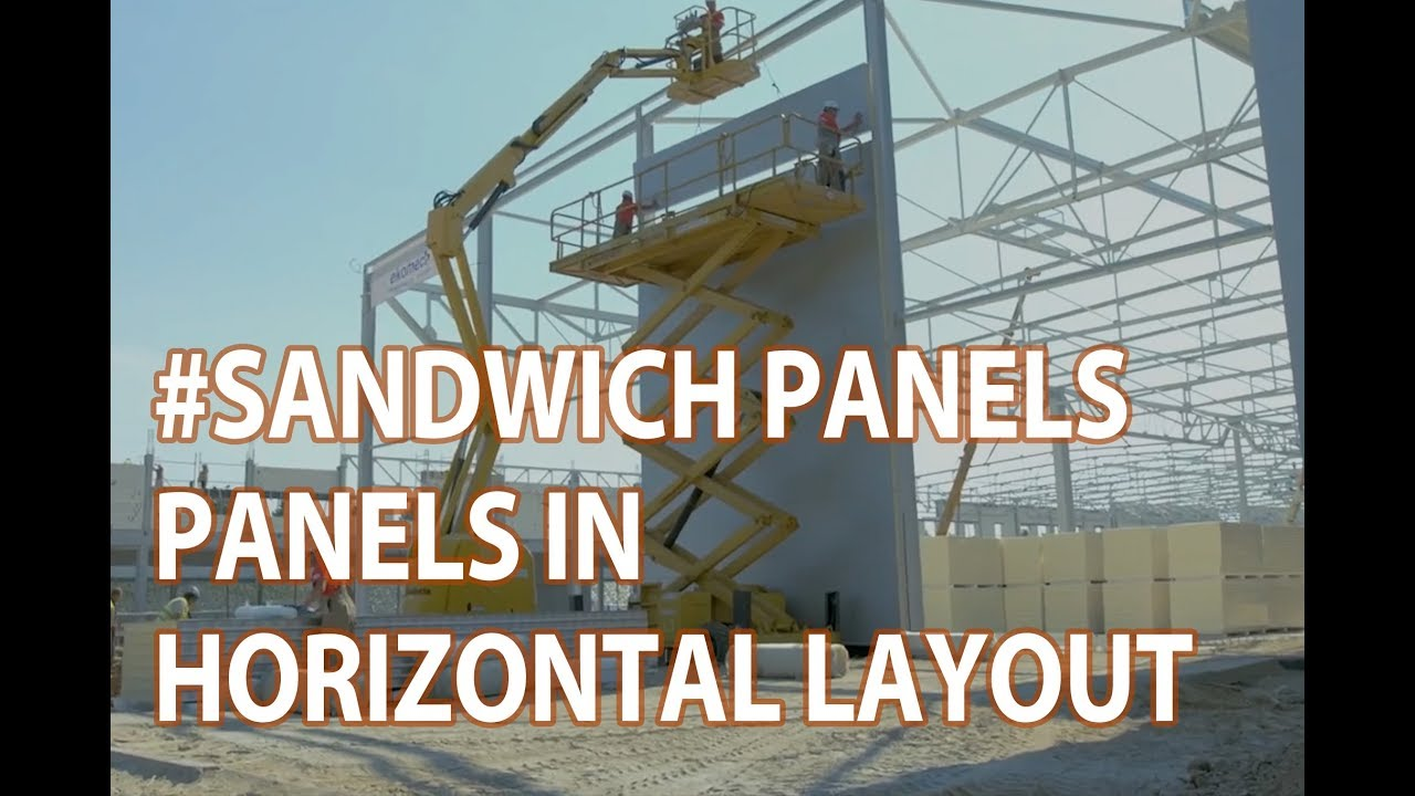 Assembly Manual for Balex Metal sandwich panels in horizontal layout