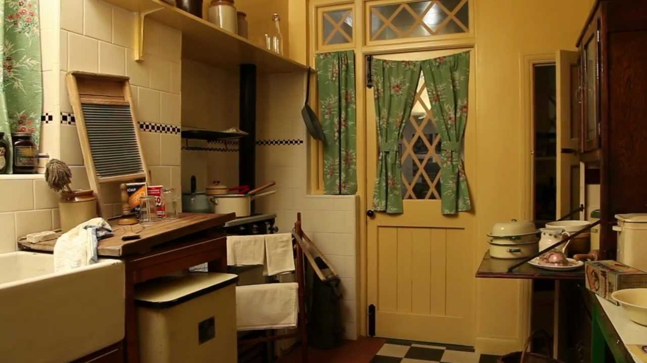 The 1940s House The Kitchen Youtube