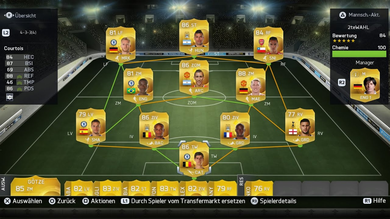fifa 16 ps4 ultimate team