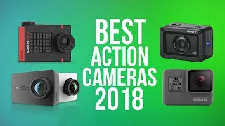 BEST ACTION CAMERAS 2018   TOP 10 ACTION 4K & 1080p CAMERA