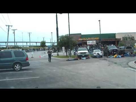 Police Dashcam Video Of The Waco, Texas Biker Shooting
