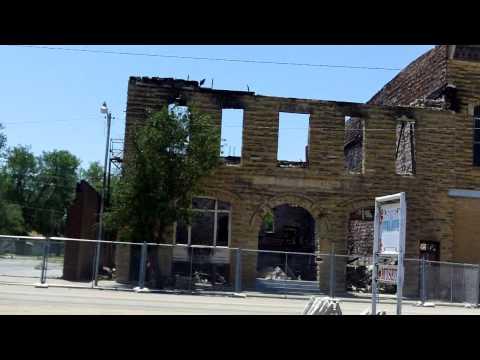 Destroyed Czech Opera House - Wilson Kansas