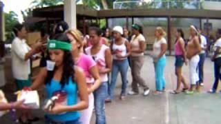 Donativos  para  las  damas  internas  en  el inof (carcel de mujeres los  teques)