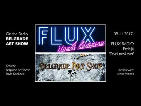 BELGRADE ART SHOW gostovanje @ Radio FLUX