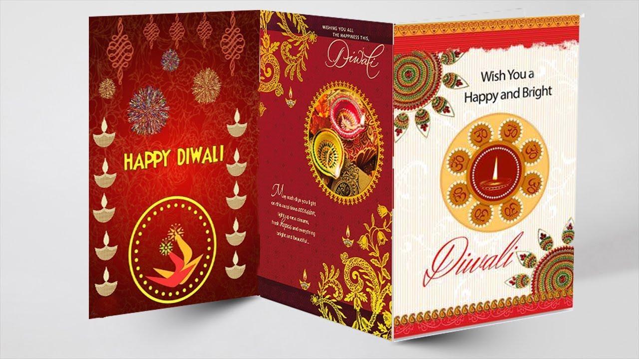 hand made easy diwali card tutorial 2019 diwali greeting