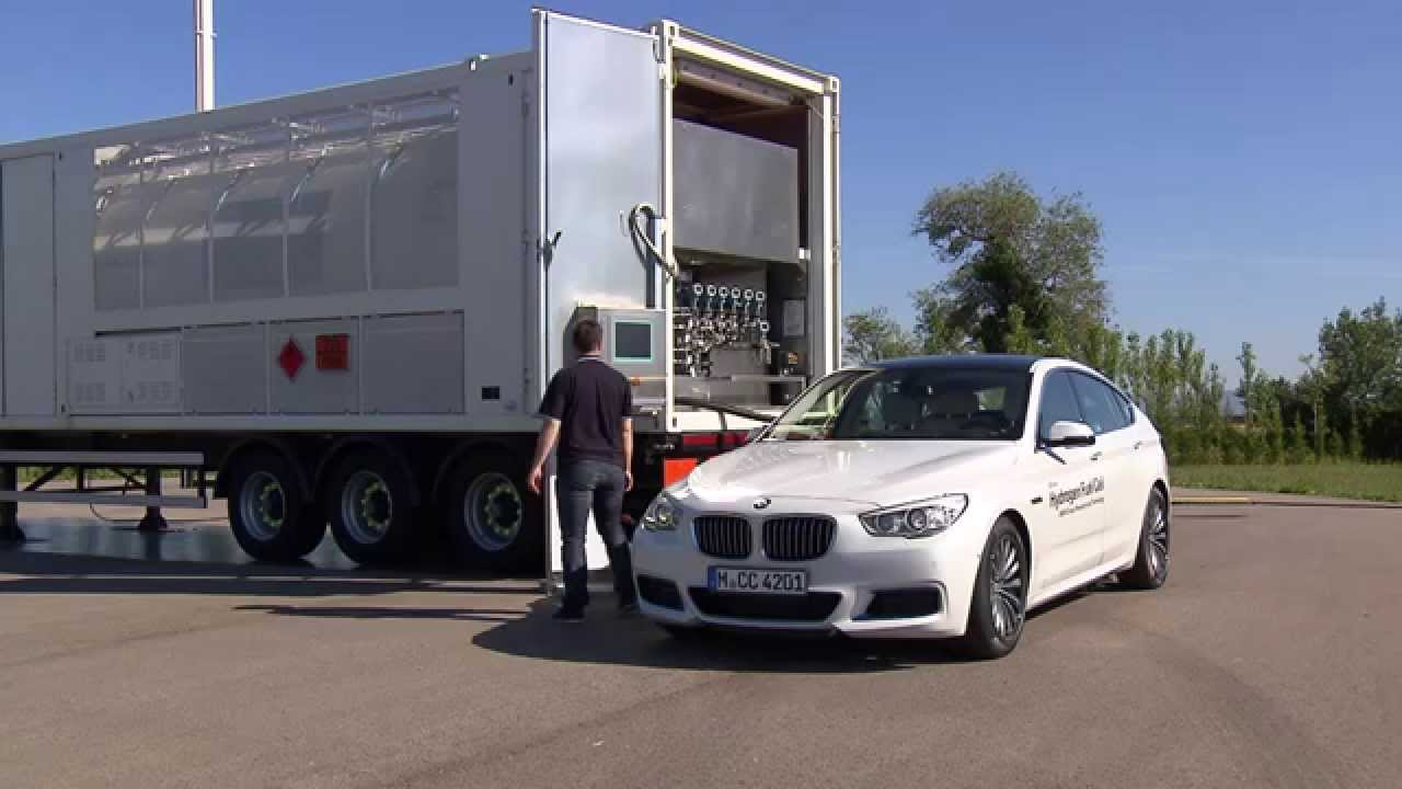 BMW Group Innovation Days: Hydrogen Fuel Cell Cars - YouTube