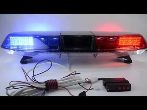 FLASH LED Police Light Bar TBD-GRT-006