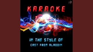 Arabian Nights (Karaoke Version)