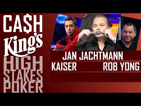 Ca$h King$ - High Stakes action - PLO Blinds 100€/100€ - Day2