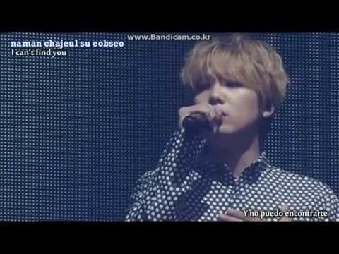 Hongki & Choa  - Words I Couldn't Say Yet [Sub English & Español] Live