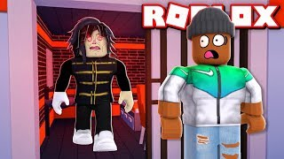PRISON BREAK!! - A Roblox Horror Story (CAMPING PART 6)