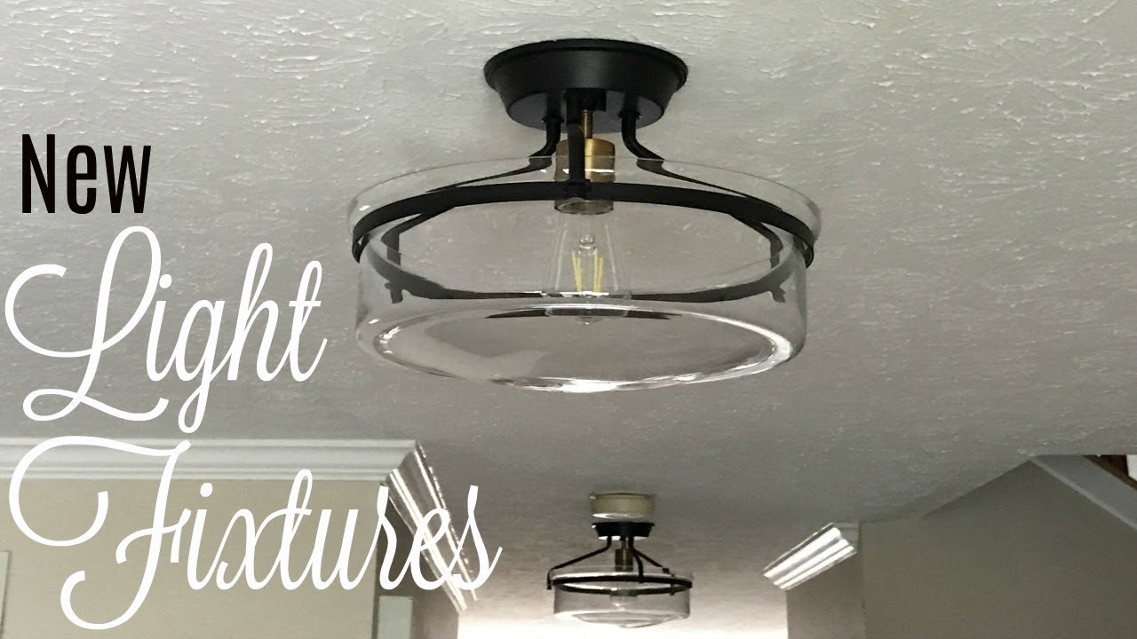 My new hall light fixtures are finally up