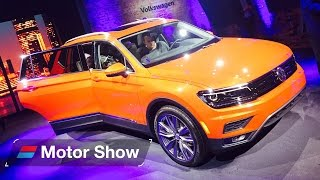 2017 Volkswagen Tiguan Allspace – First Look at the Detroit Motor Show