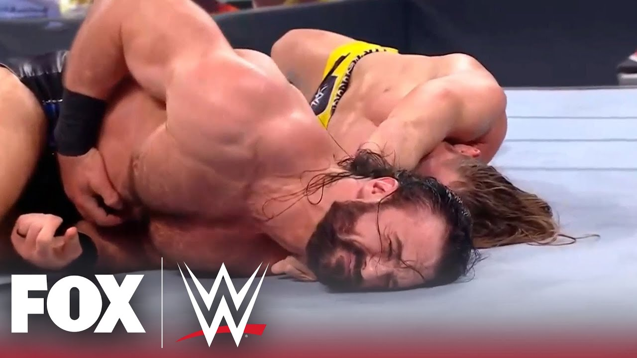 Drew McIntyre and Riddle face-off in Money in the Bank qualifying match | MONDAY NIGHT RAW