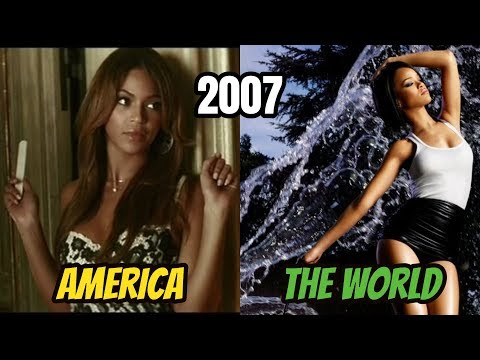 America Taste In Music VS The World (2000-2018) The #1 Song Of Each Year
