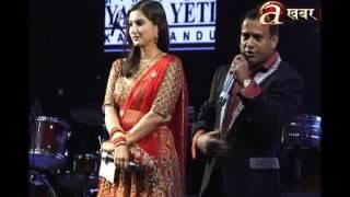 Indian singer Kumar Sanu entertains Nepali crowd in Kathmandu