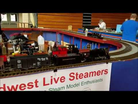 460 E6 steam engine at Emmerich Manual High School March 4, 2017
