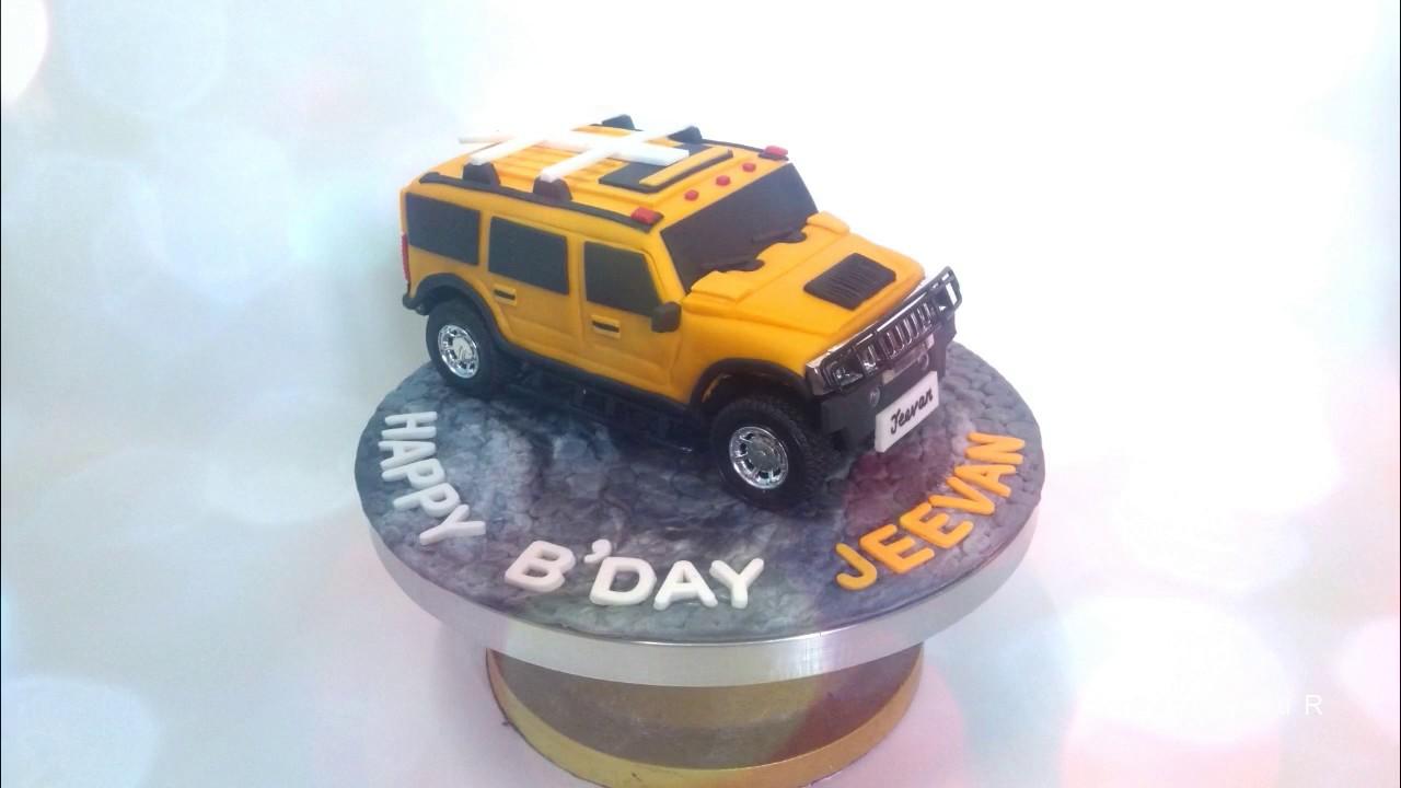 Remote control moving car cake youtube remote control moving car cake baditri Gallery