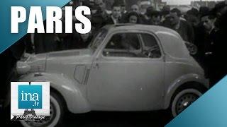 Le Salon de l'Auto 1946 au Grand Palais | Archive INA