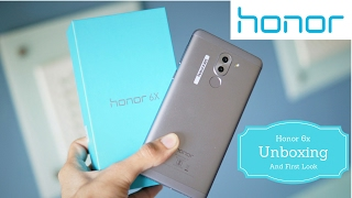 Honor 6X 3GB Grey | Unboxing and First Look | Indian Retail Unit