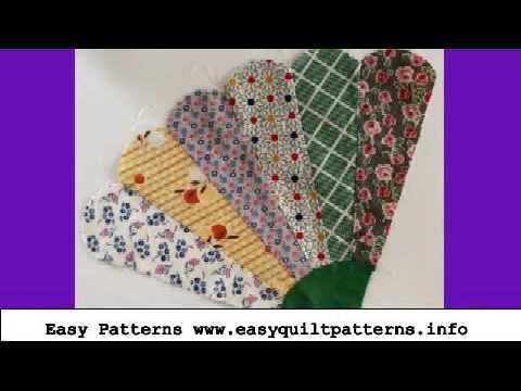 Easy Quilting Grandmas Fan Quilt Block Pattern Youtube