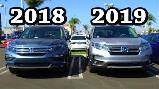 2019 Honda Pilot Elite first look off the truck!