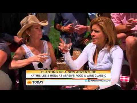 Kathie Lee And Hoda Get Wasted In Aspen