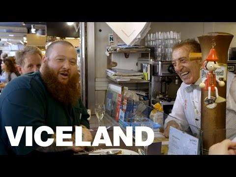 Action Bronson Eats at the Greatest Market in Barcelona (Extra Scene)