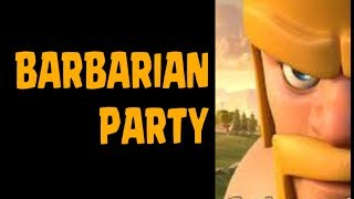 Clash of Clans | Barbarian Party vs. Damage Inc in random matchup!