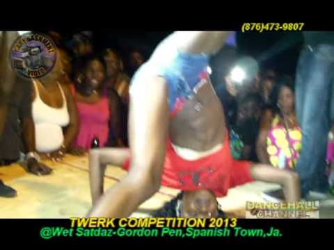 Spice Twerk Competition 2013