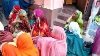 Jodhpur in Rajasthan part1  ジョードプル(ラジャスタン州)の女性たちの歌
