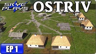 OSTRIV Ep 1 - New City Building Game - How To Get A Great Start! - Let's Play / Gameplay / Tips