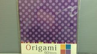 Komoda Fuzzy Dots Origami Paper Unboxing!