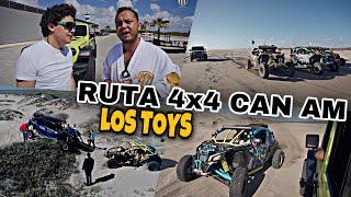 RUTA 4x4 EN LA PLAYA | LOS TOYS | MARKITOS TOYS®️