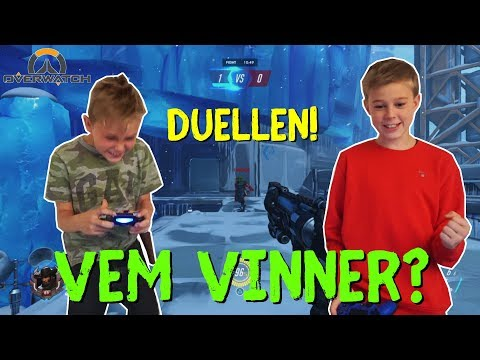 "Overwatch 1v1 | ""Duellen!"" → VEM VINNER!? 