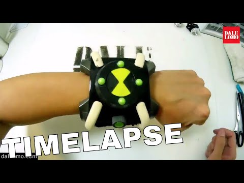 Timelapse - Ben 10 Omnitrix DIY Cosplay