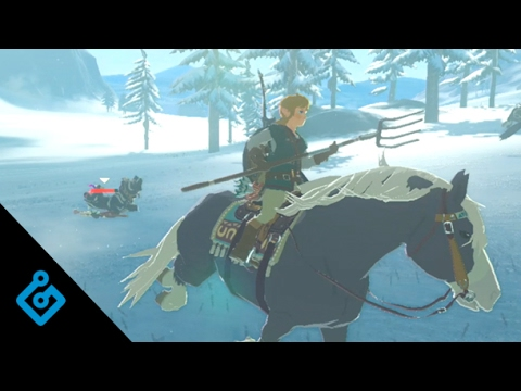 Exclusive, New Gameplay For The Legend Of Zelda: Breath Of The Wild