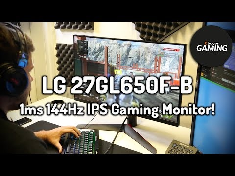 "LG 27GL650F-B 27"" Full HD 1ms 144Hz IPS Gaming Monitor - First Look!"