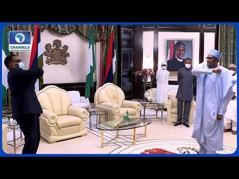 Buhari, AfDB President Adesina Meet In Abuja