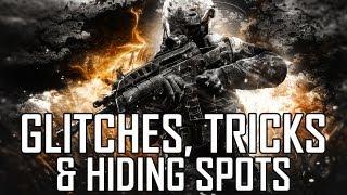Black Ops 2 Glitches & Hiding Spots! BO2 Glitches & Spots Online (Part 1)