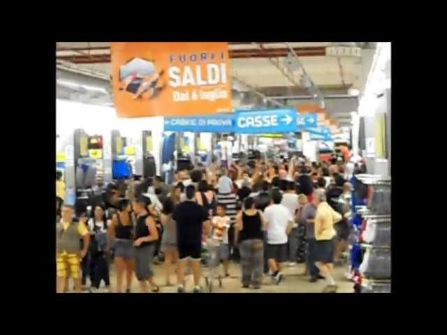 MANY FLASH MOB - DECATHLON PORTA DI ROMA