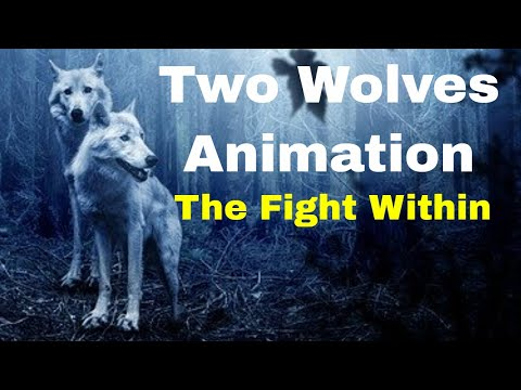 hypnosis-animation-london-|-positive-psychology-⏩two-wolves-(hypnosis-metaphor-animation)